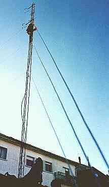 Antena gainean ekilibrioak