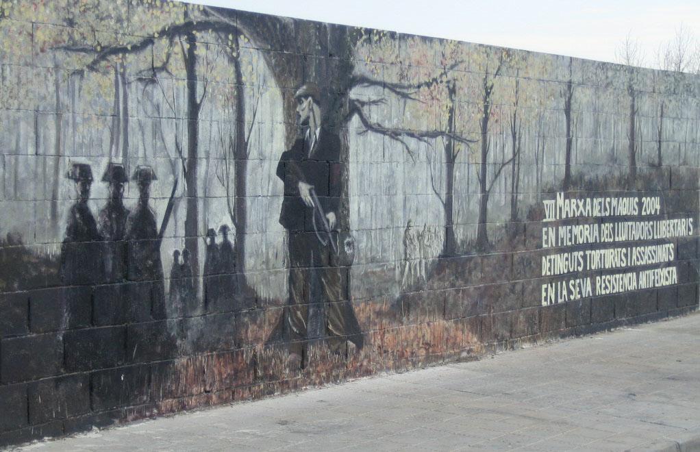 Graffiti homenaje a los makis Muralagusti_2