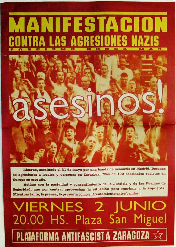 Contra las agresiones nazis