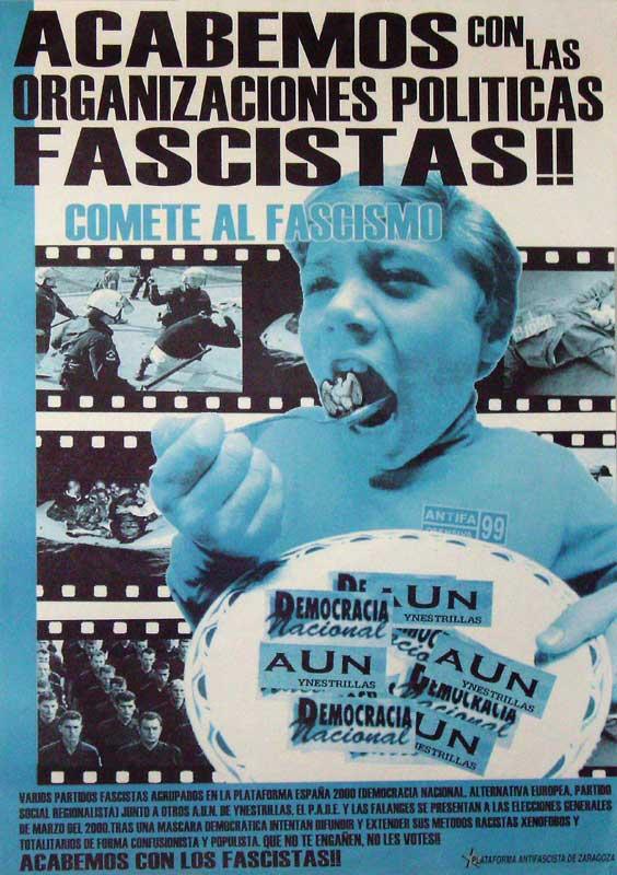 Acabemos con las organizaciones fascistas