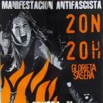 Mnaifestación antifascista