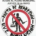 Basta de represión
