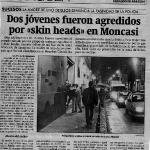 Agredidos en Moncasi