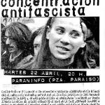 Concentración antifascista