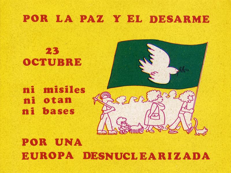 Por la paz y el desarme
