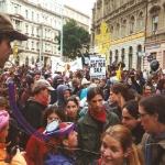 Praga. Reunión FMI y Banco Mundial. 2000