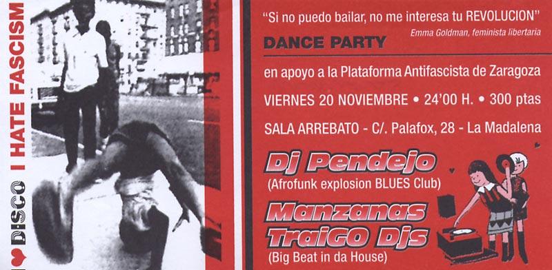 Dance Party Antifascista