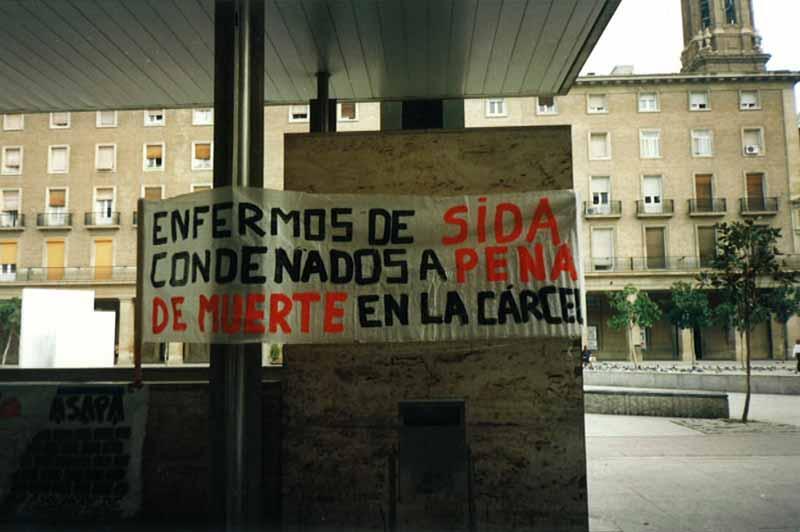 Enfermos de SIDA en la cárcel