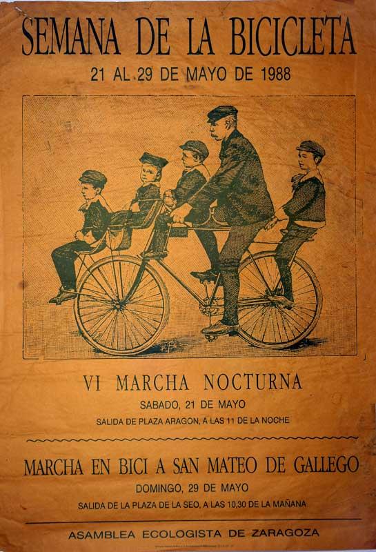 Semana de la bicicleta 1988