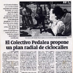 Plan radial de ciclocalles