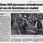 Bicifestación 1991