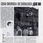 Casa okupada de Zaragoza, que no!