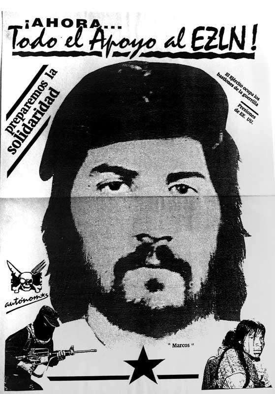 Todo el apoyo al EZLN