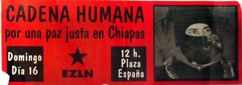 Por una paz justa en Chiapas