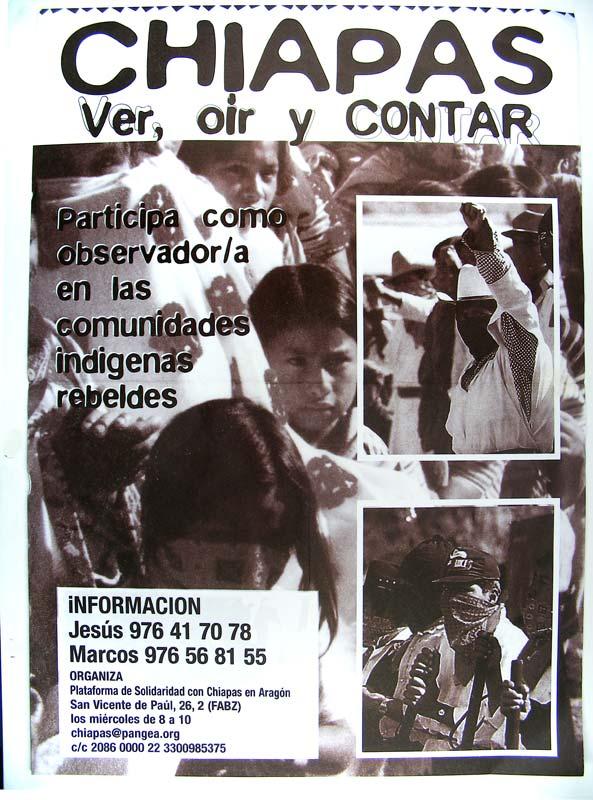 Chiapas: ver, oir, contar