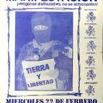 Manifestación: Todos somos zapatistas