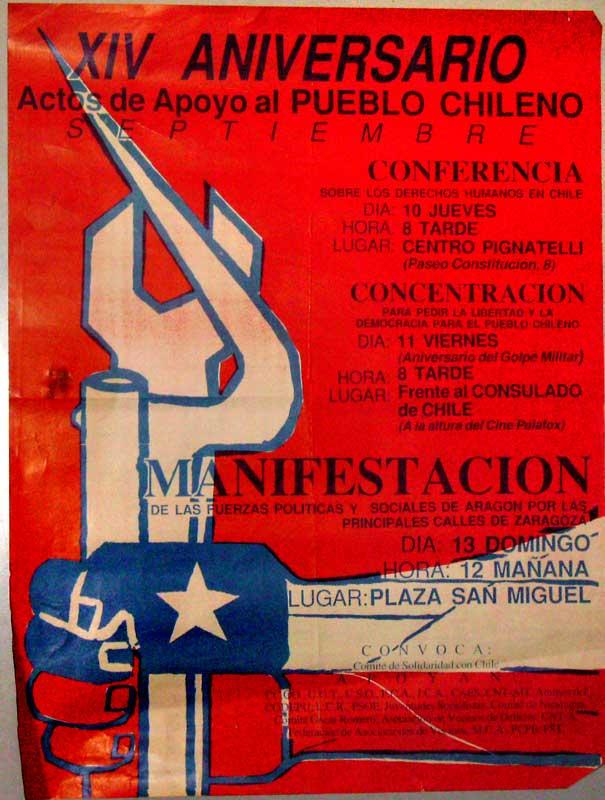 Apoyo al pueblo Chileno