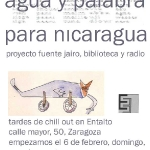 Agau y palabra para Nicaragua