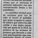 Movilizaciones vecinales en Delicias
