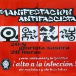 manifestación antifascista