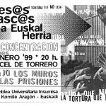 Presos vascos a Euskal Herria