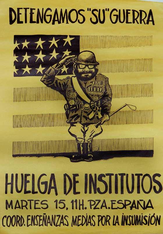 Huelga de institutos