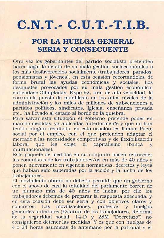 Huelga general  1994