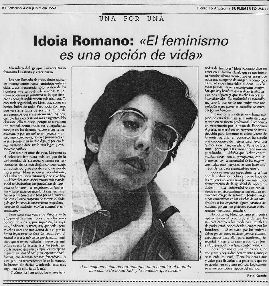El feminismo es una opción de vida