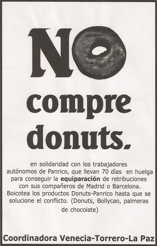 boicot a Donut