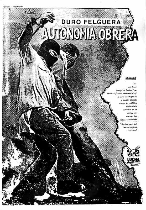 Solidaridad trabajadores de Duro Felguera
