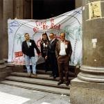 Bancarios en huelga