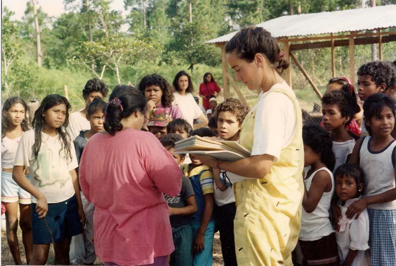 Brigadistas en Nicaragua