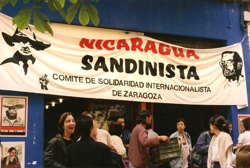 Nicaragua sandinista. Vermú en el Entalto