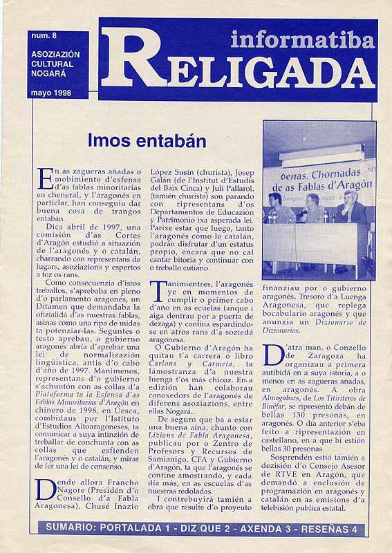 Informatiba Religada 8