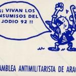 Asamblea antimilitarista de Aragón