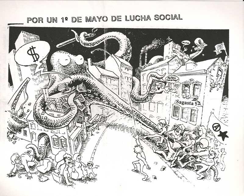 Por un primero de mayo de lucha social