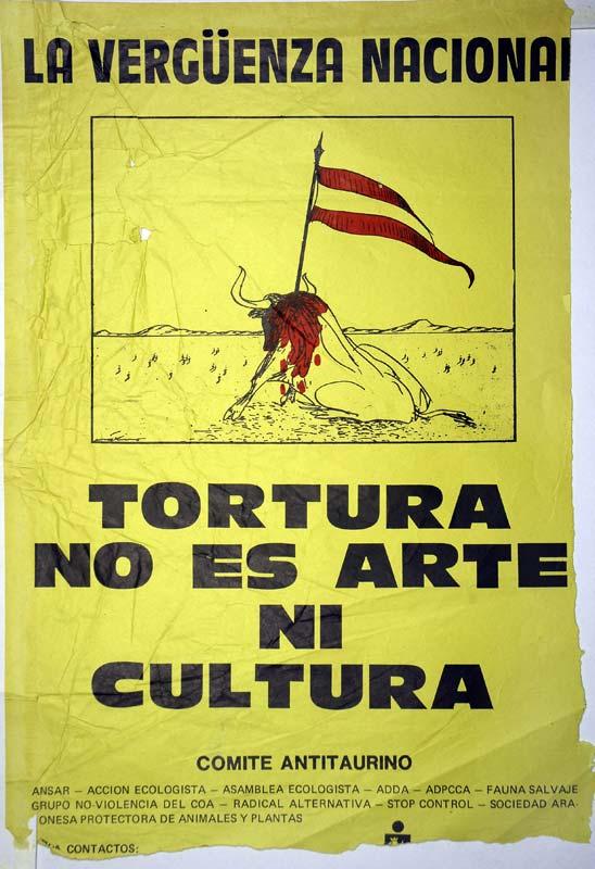 Tortura no es arte