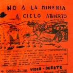 No a la minería a cielo abierto