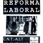 Contra la reforma laboral