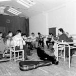 Clases de guitarra en la Peña Unión Flamenca