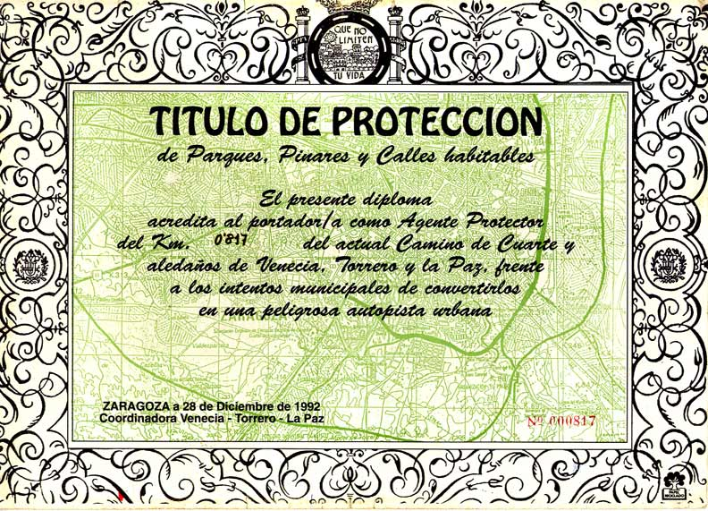 Titulo de protección