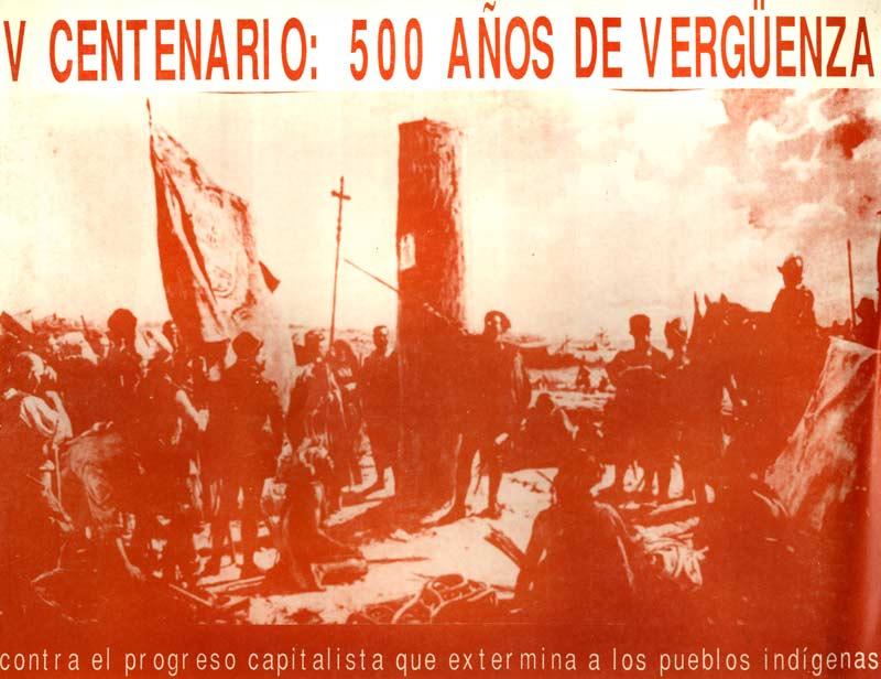 500 años de vergüenza