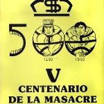 V Centenario de la masacre